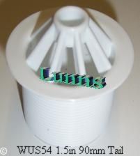 "1-1/2"" Plastic Urinal Waste 90mm Tail"