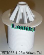 "1-1/4"" Plastic Urinal Waste 90mm Tail"